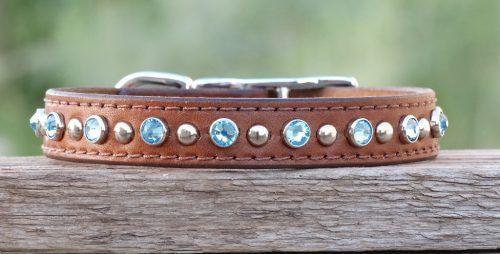 Glam-City-leather-dog-collar-medium-tan