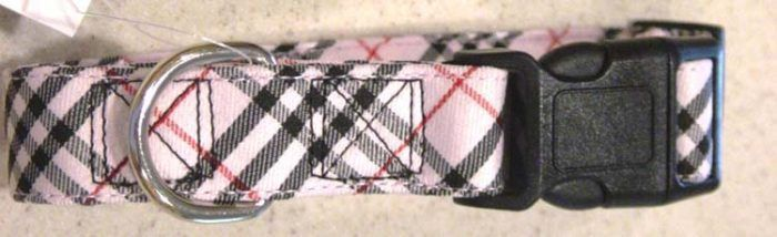3-boys-pink-plaid-dog-collars