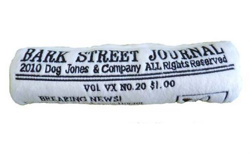 Bark_Street_Journal Squeaker Toy for dogs