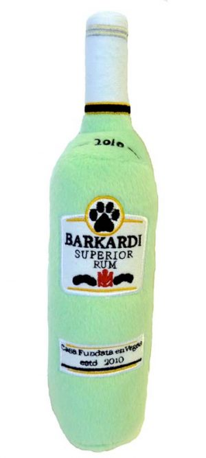Barkardi_rum_Squeaker Toy for dogs