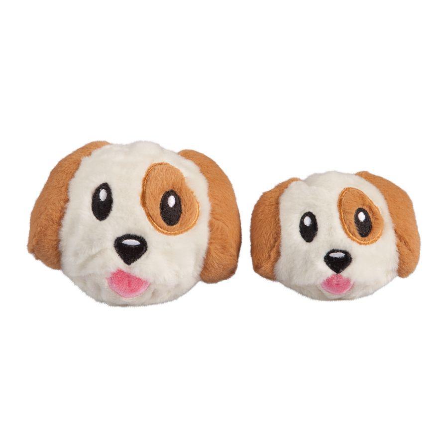 Fab Dog FabBall Dog Emoji dog toy