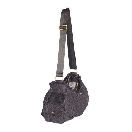 Messenger-Dog-Carrier-Bag-Black