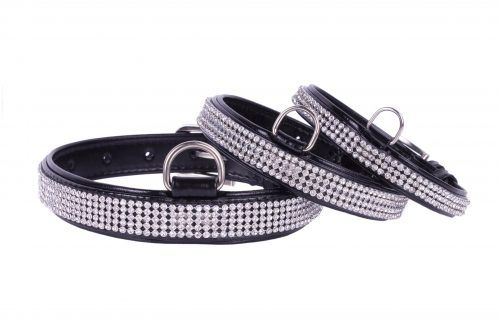 Dog Collar with crystals- Crystal Dog Collar