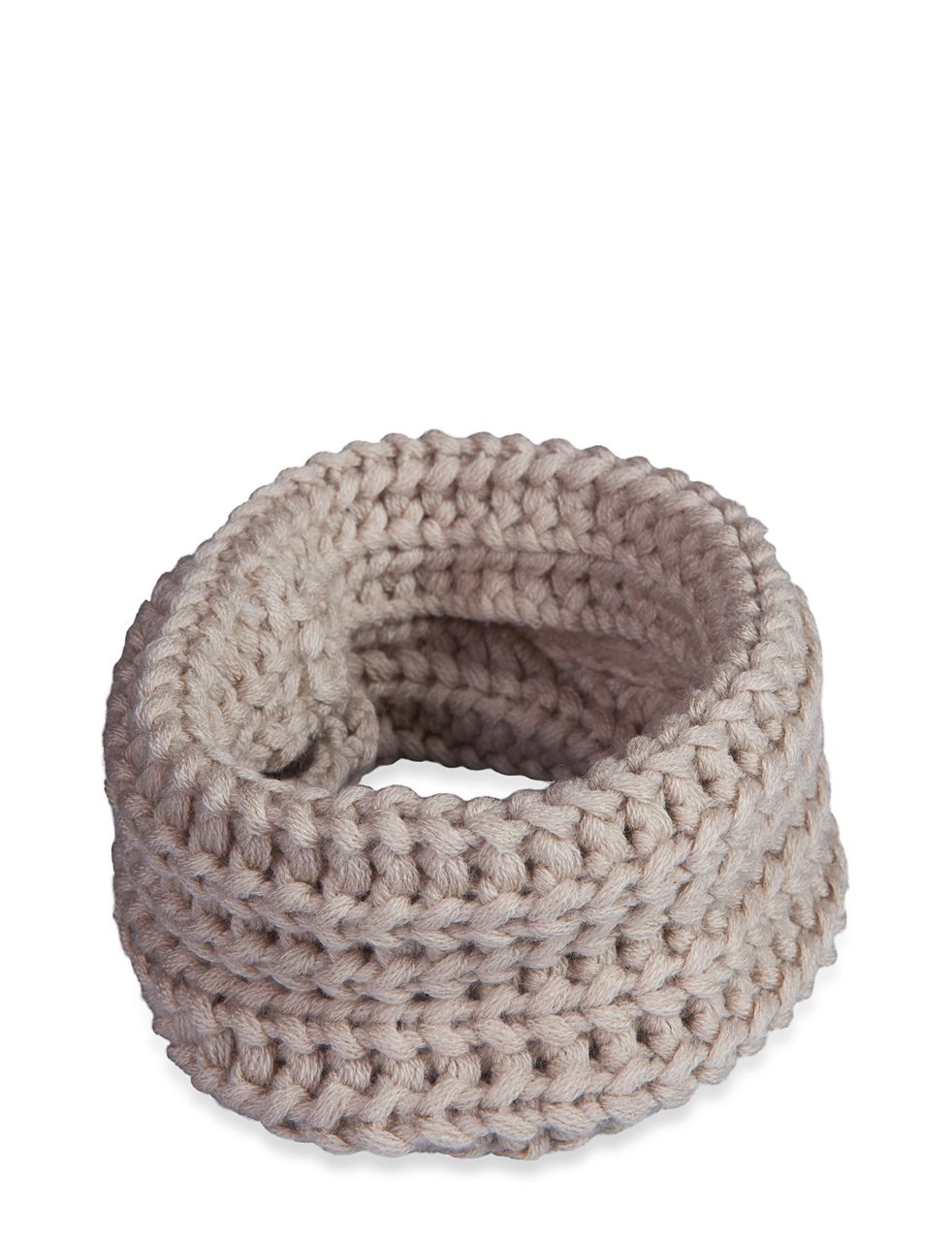 Infinity dog Scarf Oatmeal by Fab Dog