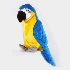 Jimmy_parrot Tuff toys for dogs