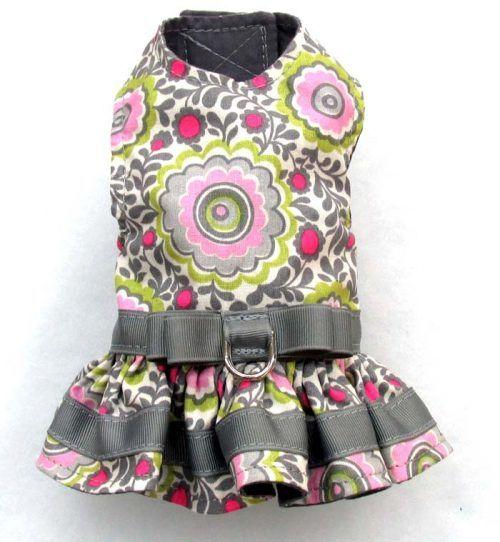 Harness Dog Dress-Girly-Girl.