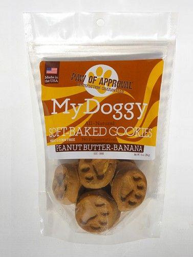 Dog Treats- Peanut Butter banana Dog Treats