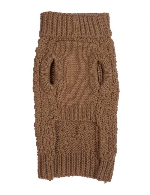 Super Chunky Camel dog sweater by Fab Dog ... 564621251