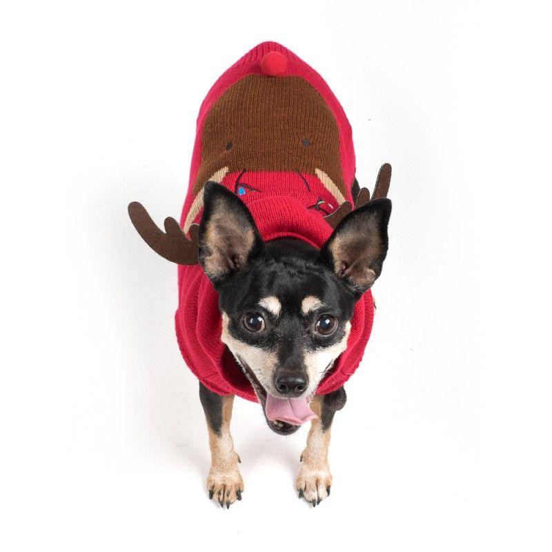 Hoodie-Dog Sweater- Rudy-Reindeer_Annabelle