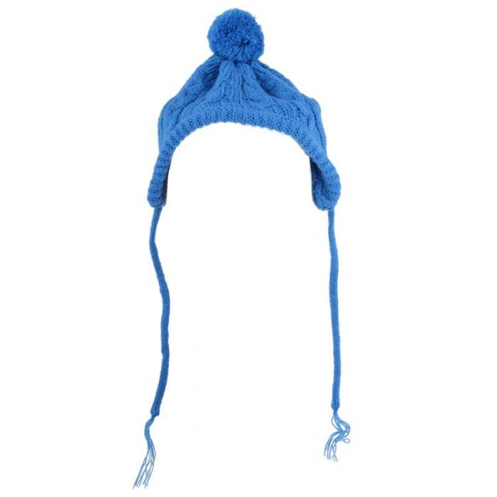 Dog Hat Toboggan Blue