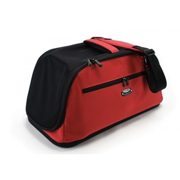 Sleepy pod red Travel dog carrier