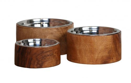 anderson acacia wood bowls for dogs