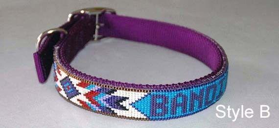 handmade-beaded-dog-collar