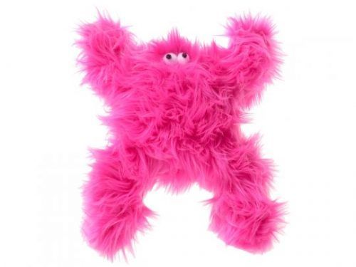 West Paw boogey-hot-pink-dog-toy