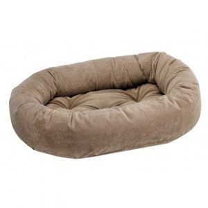 bowsers-dog donut-bed-cappucino-treats
