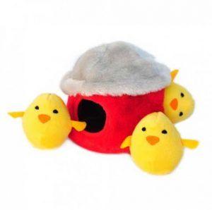 zippypaws-chicken-hut-burrow-dog-toy