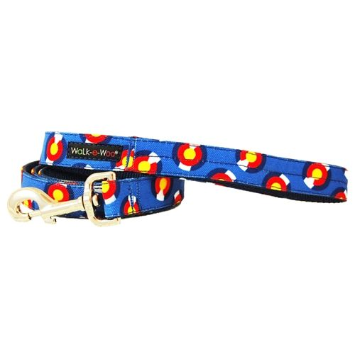 walk-e-woo colorado-blue-leash lead