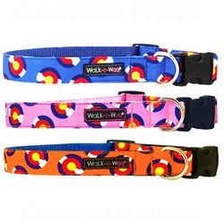 walk-e-woo colorado collection dog collars