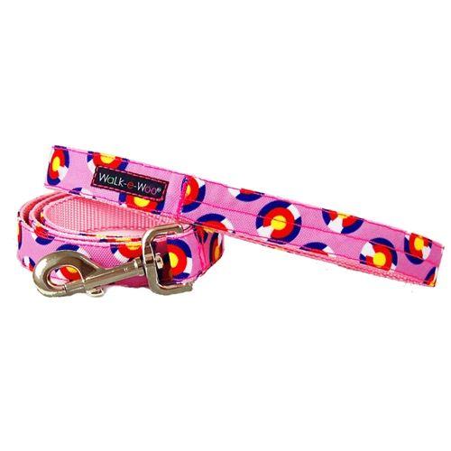 walk-e-woo colorado-pink-leash lead