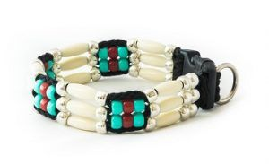 zany-zak-comanche-handmade-beaded-dog-collar-3 strand
