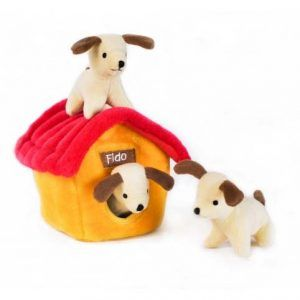 zippypaws-dog-house-burrow-dog-toy