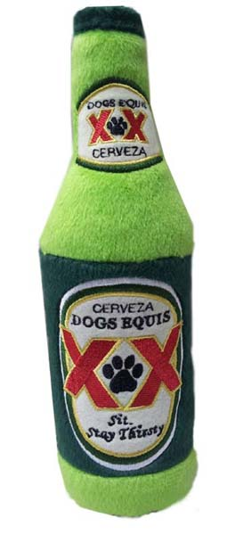 dogs-equis-beer-toy Squeaker Toy for dogs