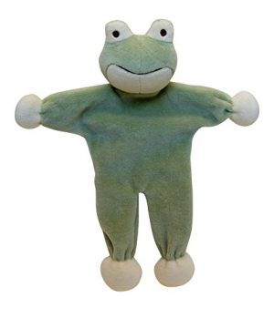 Simply Fido Eddie-frog Stuffless-dog-toy