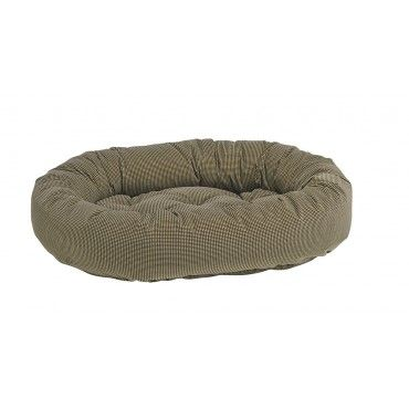 Bowsers Donut Dog-bed houndstooth