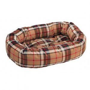 bowsers-donut-dog-bed-kensington-plaid