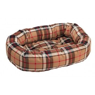 bowsers-donut-dog-bed-kensington-plaid