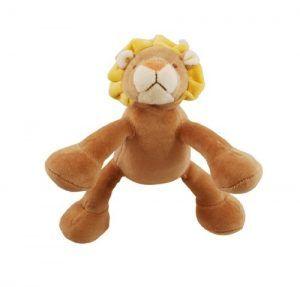 Simply fido leo-lion dog toy