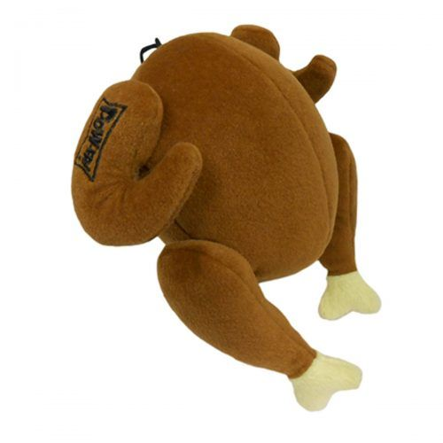 lulubelles turkey dog toy