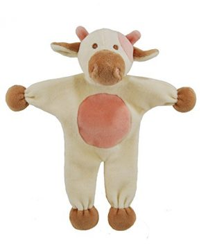 Simply Fido Millie-cow-Stuffless-dog-toy