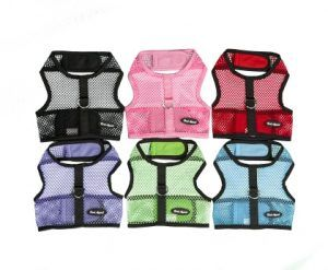 Bark Appeal netted wrap-n-go velcro dog Harness