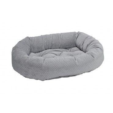 nickel-weave-donut dog bed