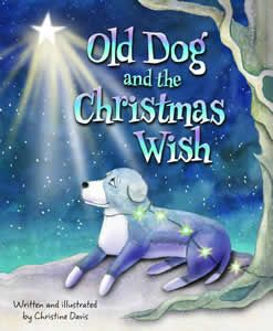 old dog and the Christmas wish-book