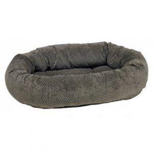 pewter-bones donut dog bed