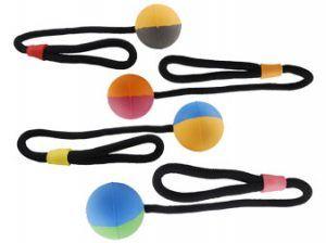 Simply Fido Rubb n Roll rope ball dog toy