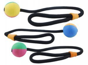 Simply Fido Rubb n Roll rope ball dog toy
