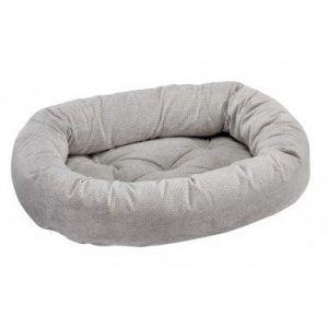 silver-treats donut dog bed