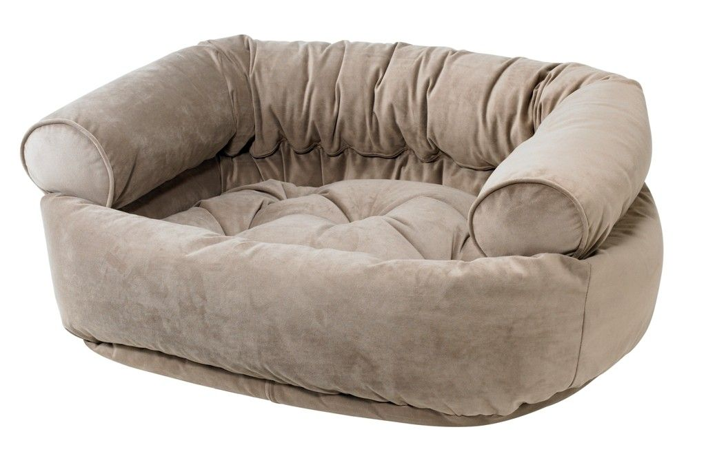 taupe bed
