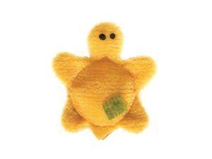 West Paw tiny-turtle-daisy-yellow-dog-toy
