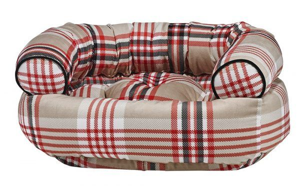Double Donut Dog Bed - Turnberry plaid