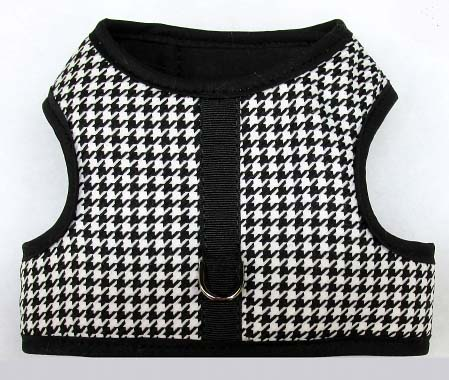 mr-wags-houndstooth-Velcro-vest-Dog-Harness