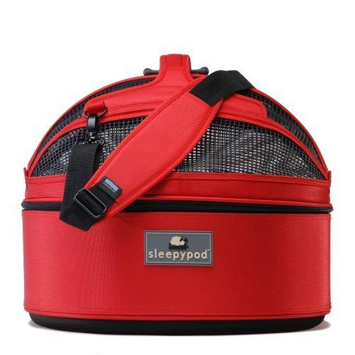 sleepypod-moblie-strawberry-red-dog carrier