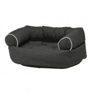 Bowsers-Dog Bed Black storm