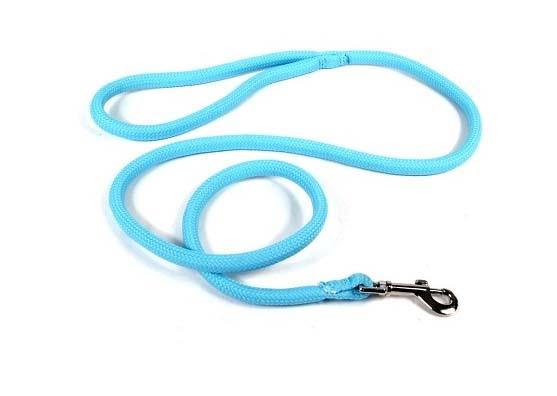 Yellow Dog Light Blue Lead Leash