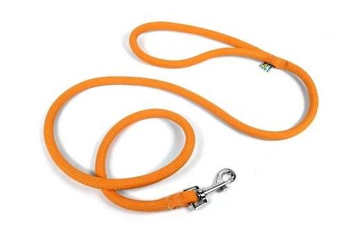 Yellow Dog Light Orange Lead-Leash
