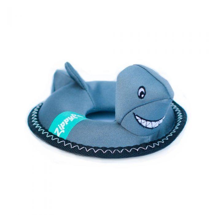 zippypaws floaterz shark Wate Dog toy