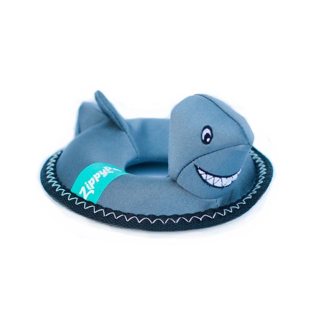 zippypaws-floaterz-shark-Water-Dog-Toy